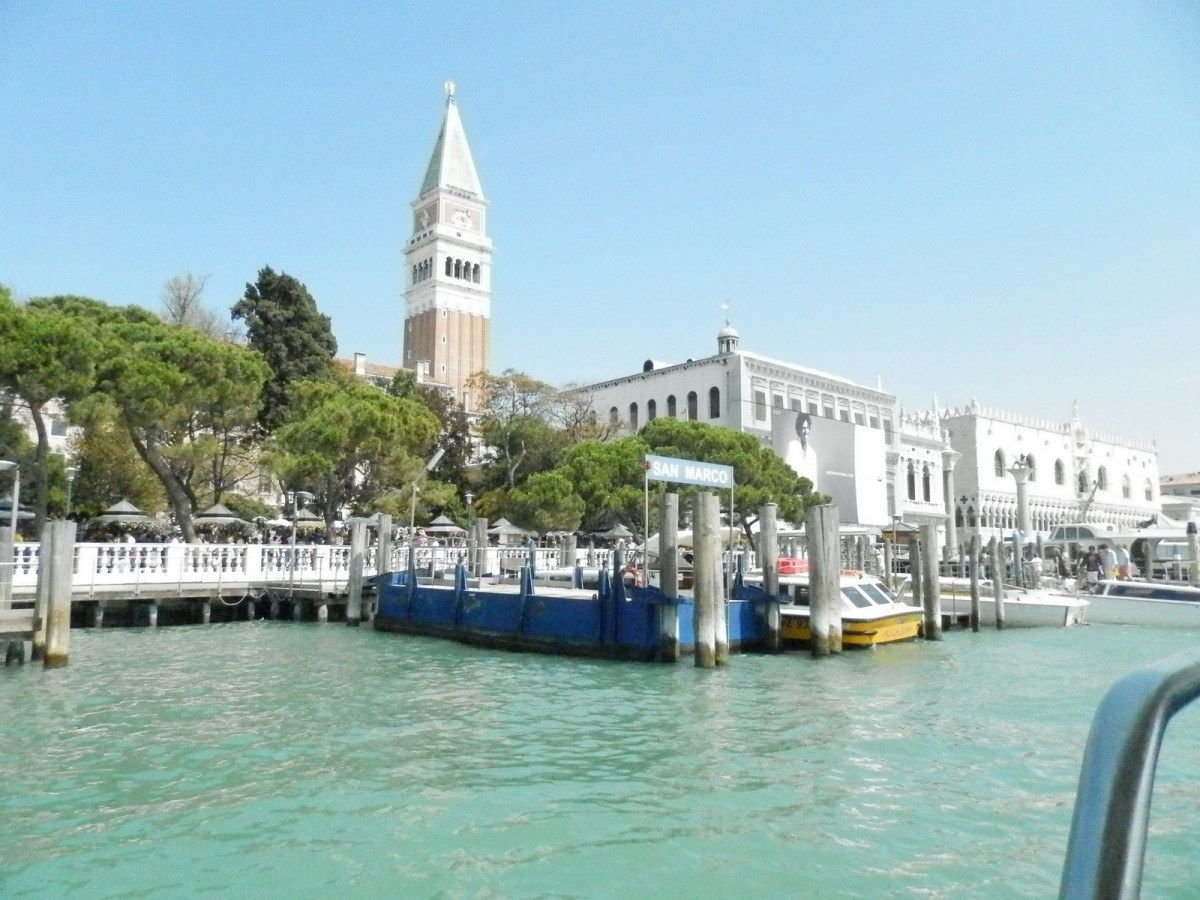 Station vaporetto San Marco