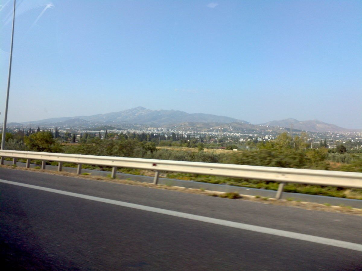 On the way to Athens