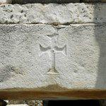 Éphèse - croix chrétienne