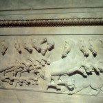 Les chevaux du sarcophage Lycien