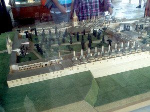 Maquette du palais de Topkapi