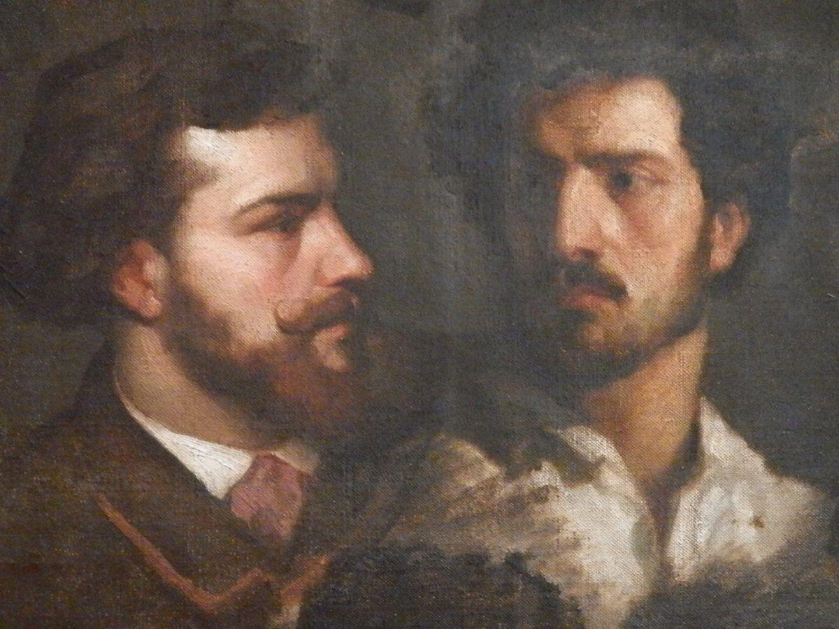 Quarante-trois portraits de peintres de l'atelier de Charles Gleyre