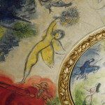 Plafond Chagall à l'Opéra Garnier