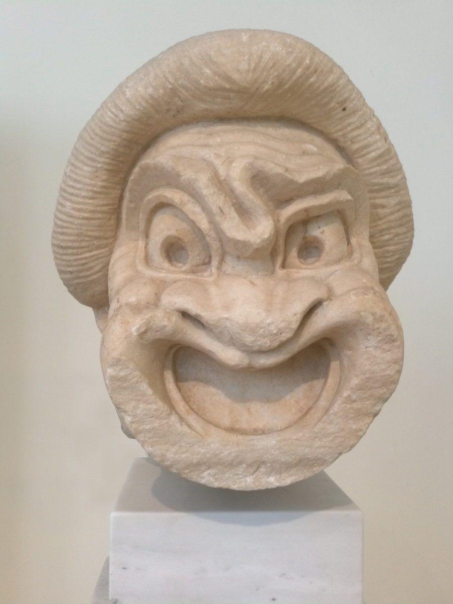 Masque d'esclave de la nouvelle comédie