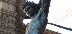 Persée tenant la tête de Méduse