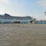 Grand paquebot à la place San Marco