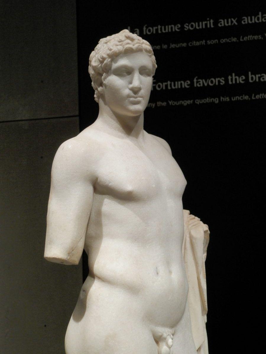 Statuette d'un athlète ou d'un guerrier