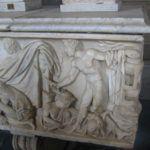 Bas reliefs au Musée du Vatican