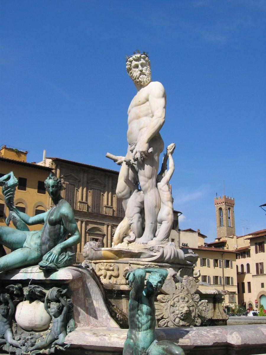 Fontaine de Neptune - Florence