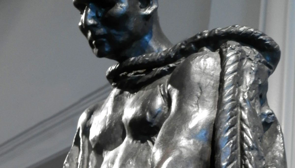 Jean of Aire by Auguste Rodin