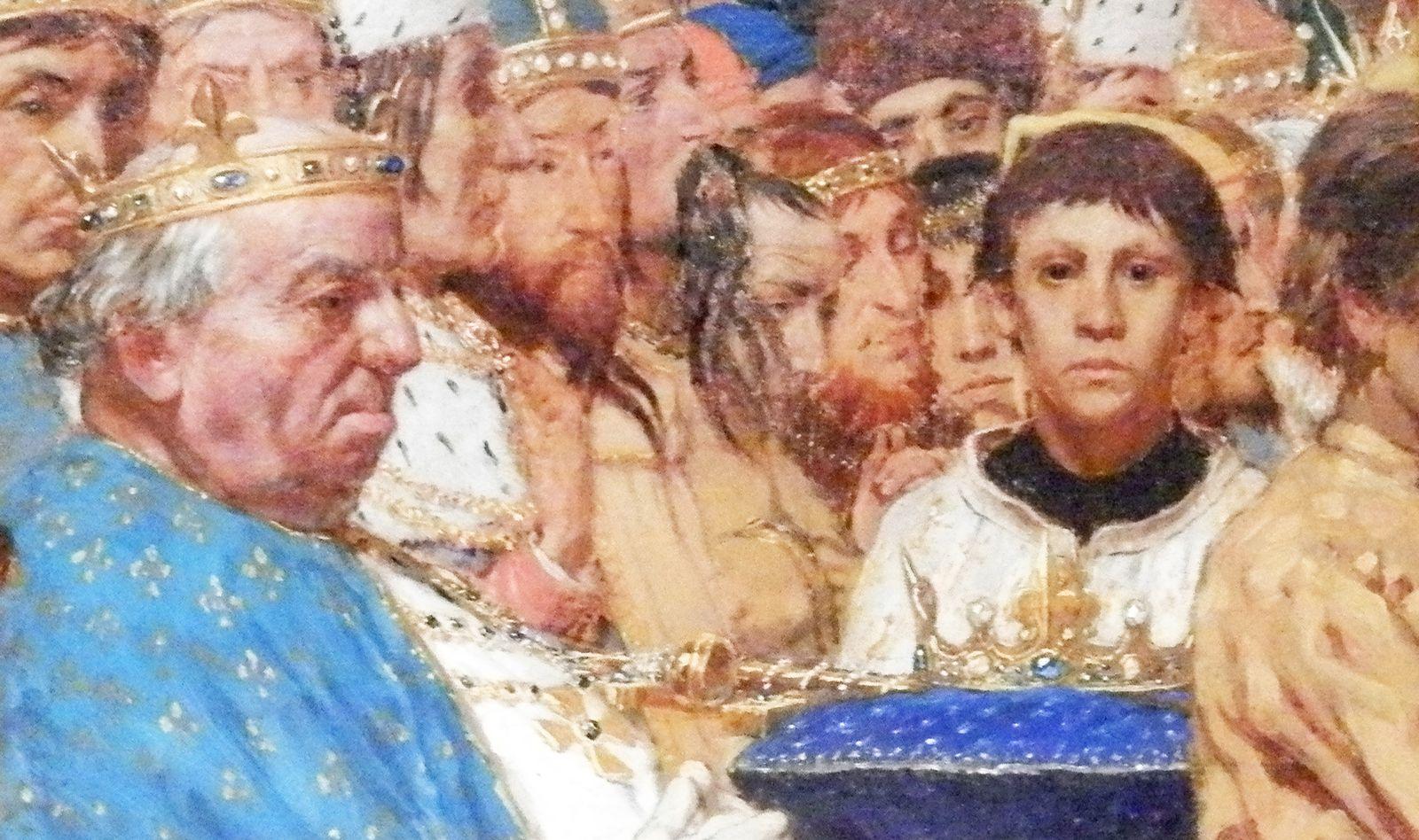 Les funérailles du comte de Flandre, Charles le Bon