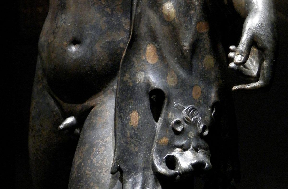 Statuette de Bacchus