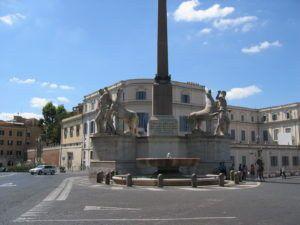 La Fontaine des Dioscures