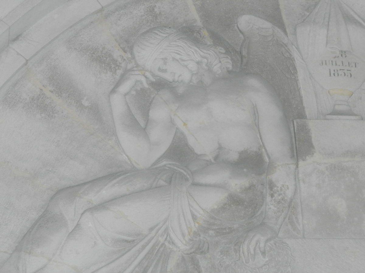 Napoleon's tomb-reliefs