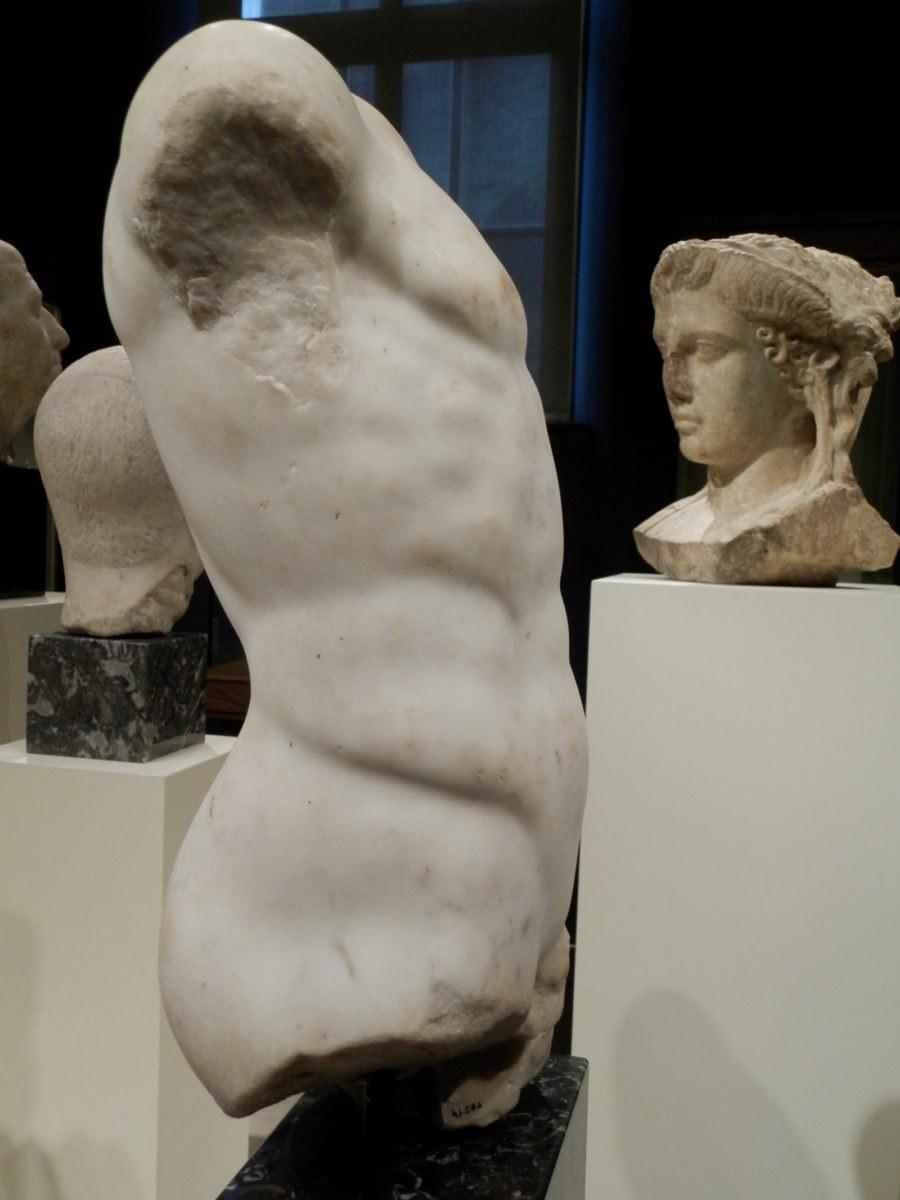 Torso of man-high-Roman Empire