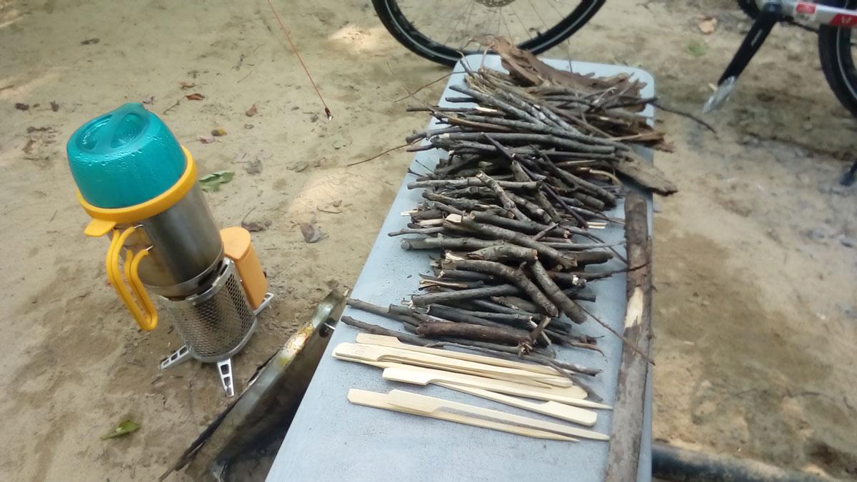 Kit BioLite – Les brindilles et les branches